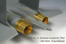 Dream Model 1/72 #0544 Su-27/Su-30MKK/Su-33 Exhaust Nozzles for Trumpeter