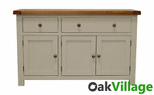 Walcot Painted Oak Large Sideboard / Storage Cupboard / Solid Wood Buffet / New