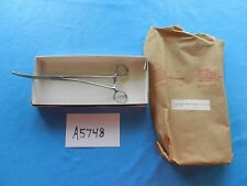 Solway Surgical Vascular 6.5cm Debakey Bahnson Curved Artery Clamp NEW!!