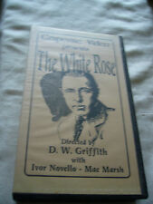 THE WHITE ROSE D W GRIFFITH IVOR NOVELLO PAL VHS SMALL BOX