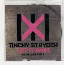 (FC226) Tinchy Stryder, Let It Rain ft Melanie Fiona - 2010 DJ CD