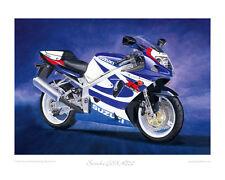 """Suzuki GSX-R750K1 GSXR - Limited Edition Art Print (of 50 only) 20""""x16"""""""