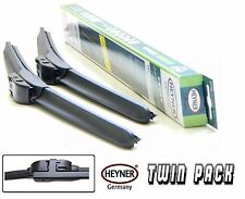 "SEAT ALHAMBRA 2001-2010 aeroflat windscreen WIPER BLADES 28""28"" TWIN PACK"