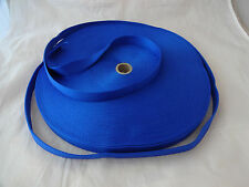 New Roll 1inch Nylon Webbing Royal Blue 50 yards Weaver Leather Strap Leads