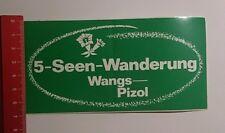 Aufkleber/Sticker: 5 Seen Wanderung Wangs Pizol (03101680)