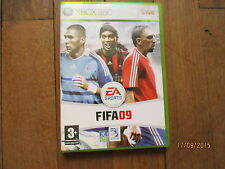 JEU VIDEO XBOX 360 FOOTBALL FIFA 09  + notice + boite