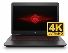 "HP Omen 17t Gaming Laptop 17 17.3"" UHD 4K i7-6700HQ 16GB 512GB SSD 8GB GTX 1070M"