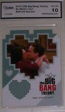 BIG BANG THEORY 2012 SO WHAT'S UP? #CPL05 DIE-CUT GEM MT 10 BY GMA