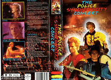 The POLICE Synchronicity Concert  (1984) -  VHS  PMV  - english