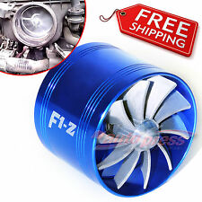 AIR INTAKE FAN B Turbo Supercharger Turbonator Charger Gas Fuel Saver fo HYUNDAI