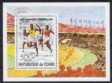 SPRINT Ciad blocco 65, Olimpiadi Montreal 1976, gest., correre, Olympic Games