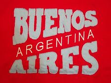 Buenos Aires Argentina Double Collar South America Tourist T Shirt M