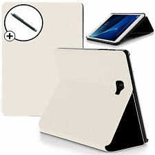 White Smart Case Cover Samsung Galaxy Tab A 10.1 SM-P580 with S Pen Stylus