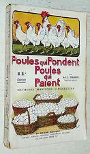 POULES QUI PONDENT POULES QUI PAIENT 11ème EDITION 1944 / CHARON