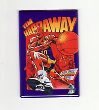 TIM HARDAWAY / CARTOON - POSTER MAGNET (nike costacos warriors champion jersey)