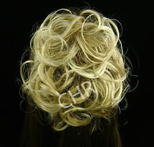 """COLOR CHOICE Katie Longer 7"""" Curly PonyTail Scrunchie on Elastic Hair Piece NWT"""