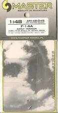 F-14A (Early Version) Nose Tip & Angle of Attack Probe 1/48 MASTER-MODEL