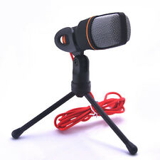 Professional Condenser Sound Microphone Studio Mic Stand For PC Laptop Skype MSN