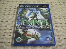 Tmnt teenage mutant ninja turtles pour playstation 2 ps2 ps 2 * OVP *