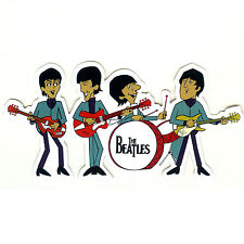 The Beatles music jam session luggage suitcase guitar Decal Sticker #1466