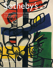 Sotheby's - Collection Frenco Cesari - Impressionist/Modern Art, WOA, Furniture