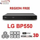 LG 3D Multi Zone All Region Code Free Blu Ray Disc Player DVD 0-8 BD A/B/C NEW