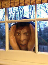Scary Peeping Tom Mask face prop Halloween Party Prank Window Peeper decoration