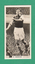 FOOTBALL - PATTREIOUEX - RARE FOOTBALL CARD -  BOWDEN  OF ARSENAL  - 1934