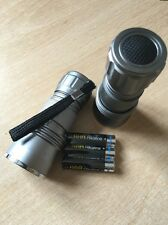 Golf Balls - 2 Finder Torch Aluminum With 3 AAA extra Life Batteries