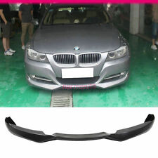 Fit For 09-12 Bmw E90 E91 3-Series Sedan Lci Facelift Front Bumper Lip Spoiler