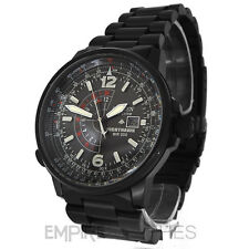 *NEW* CITIZEN MENS NIGHTHAWK PILOT PROMASTER ECO-DRIVE WATCH - BJ7019-62E- £350