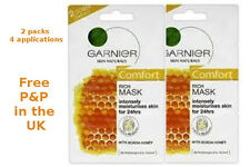 2X Garnier Skin Naturals Comfort Rich Mask with Acacia Honey - 4 applications