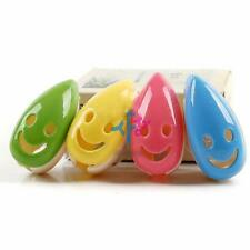 4 Pcs Travel Camping Protable Bathroom Smile Face Toothbrush Holder Case Cover