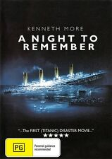 A NIGHT TO REMEMBER - TITANIC - NEW & SEALED DVD