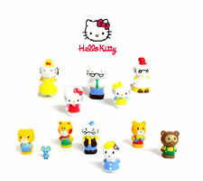 NEW Hello Kitty Set of 12 Figures Cake Toppers