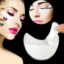 10 X White Eye Shadow Shields Protector Pads Eyes Lips Makeup Application Tool