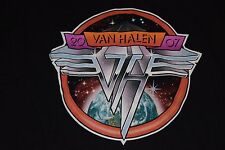 Vintage Van Halen 2007 Tour T Shirt Size Medium M Rare 90s Rock Tour Band Tee