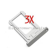 3 X iPad Mini Metal SIM Tray Slot Silver  Replacement Part USA Seller