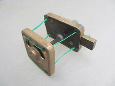 Vintage Brass Lock Vintage Engaged Vacant Bathroom Lock Antique   Edwin Showell