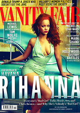 VANITY FAIR November 2015 RIHANNA IN CUBA Tom Wolfe LEA SEYDOUX Mark Shand @NEW