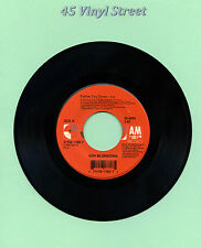 "GIN BLOSSOMS 45 FOLLOW YOU DOWN / TIL I HEAR IT FROM YOU A&M 1996 7"" ROCK"