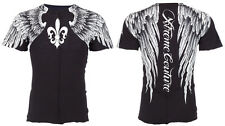 Xtreme Couture AFFLICTION Men T-Shirt AEROSMITH Wings Tattoo Biker UFC S-4XL $40