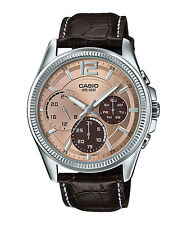 MTP-E305L-5A Casio Men's Steel Watches Day and date indicator New
