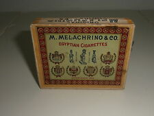 M. Melachrino & Co. Vintage (1940's) Egyptian Cigarette Box