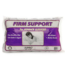 """Premium Stomach Sleeper Pillow 20""""x28""""- Firm Density- Made in USA"""