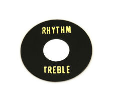 AP-0663-023 Black Rhythm/Treble Selector Switch Ring For Gibson Guitar