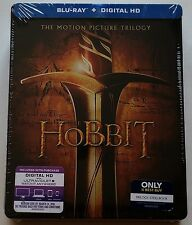 NEW THE HOBBIT BLU RAY TRILOGY BEST BUY EXCLUSIVE STEELBOOK FREE SHIPPING