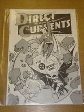 DIRECT CURRENTS #1 1981 VF DC SCENE ZINE US MAGAZINE SUPERMAN WONDER WOMAN