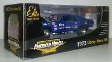 "1:18 Scale ERTL American Muscle 1972 Chevy Nova SS ""The Old Pro"" Drag Car"