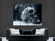 SMOKIN SMOKING SKULL  HUGE LARGE WALL ART POSTER PICTURE